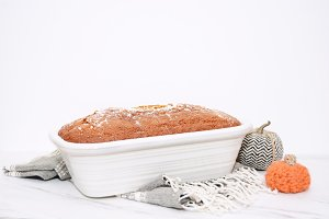 Fall Baking - Pumpkin Bread I