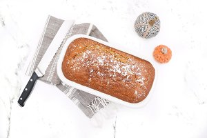 Fall Baking - Pumpkin Bread II