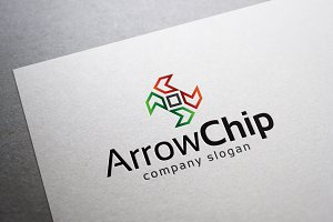 Arrow Chip Logo