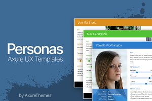 Axure UX Persona Templates