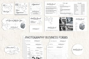Photography logo & marketing set