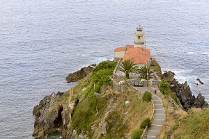 Lighthouse of Cudillero