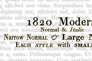 1820 Modern family