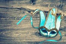 Carnival mask harlequin
