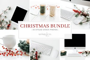 Christmas Styled Stock Photo Bundle
