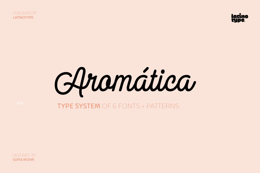 Aromatica ~ Sans Serif Fonts ~ Creative Market