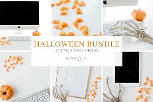 Halloween Styled Stock Photo Bundle