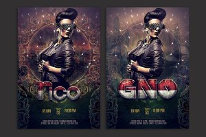 Dj/GNO Flyer