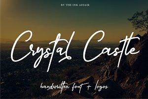 Crystal Castle Font + Logos