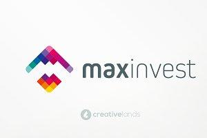 MaxInvest Logo Design
