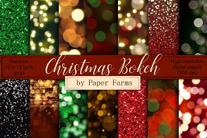 Christmas Bokeh Backgrounds