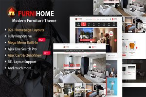 FurniHome - Furniture Store Theme