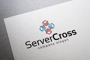 Server Cross Logo
