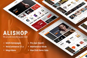 AliShop WooCommerce Theme