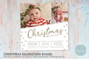 IC048 Christmas Marketing Board
