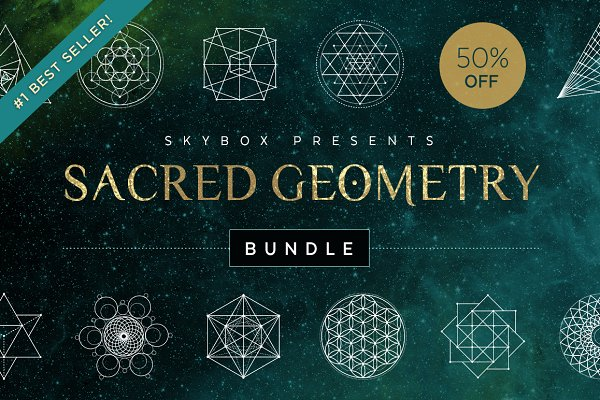 Sacred Geometry Vector Bundle