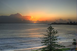 Beach Sunrise Queensland