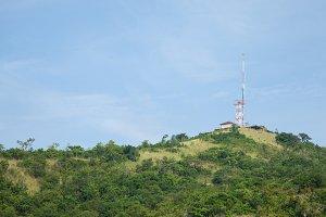 Telecommunications antenna signal.