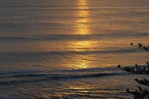 Clear Sunrise Over The Ocean