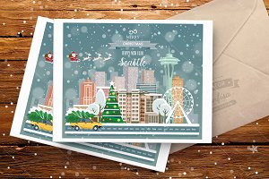 Seattle! Merry Christmas!