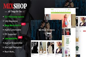 MixShop Multipurpose Theme