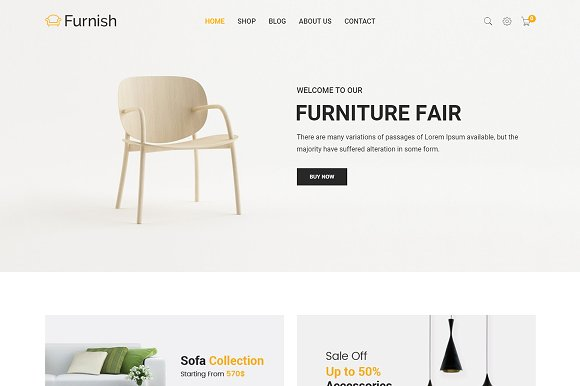Furnish Furniture Shopify Theme