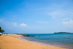 Ocean beaches.