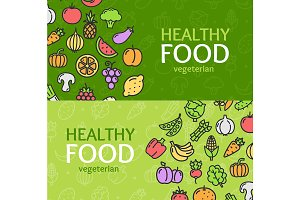 Healthy Foods Shop Banner