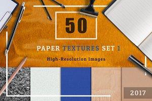 50 Paper Texture Set 1