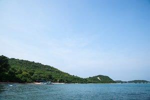 Beach Koh Larn.