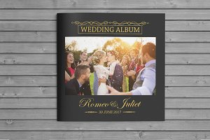 Square Wedding Album