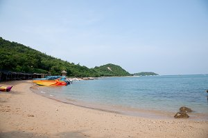 Beach of Koh Larn.