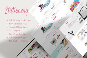 Stationery WooCommerce Theme