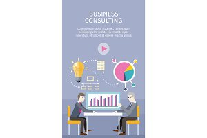 Business Consulting Concept Vector Illustration