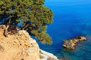 Ionian Sea summer coast, Albania