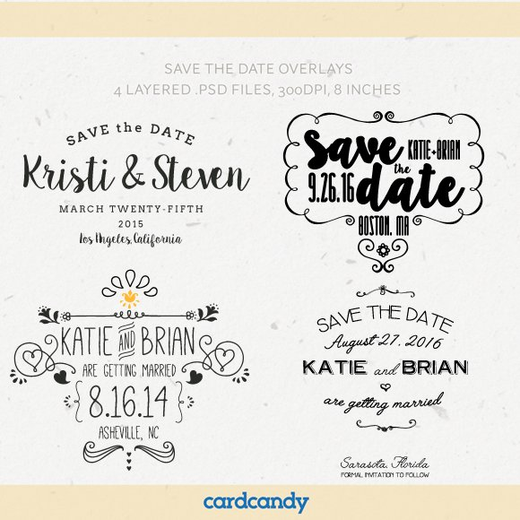 Save The Date Card Overlay Templates Invitation Templates on – Save the Date Template