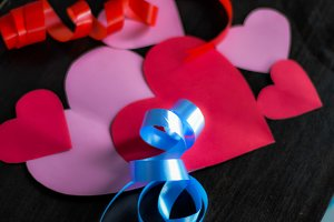 ribbon and love