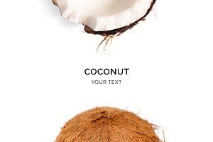 Macro coconut