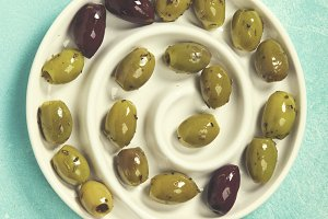 Mediterranean Green olives