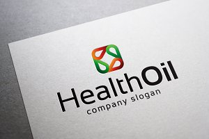Health Oil Logo