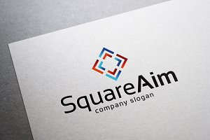 Square Aim Logo