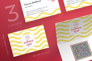 Business Cards | Beauty Tabita Spa