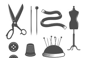 Tailor Icon Set