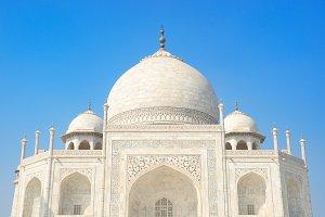 Domes of Taj Mahal
