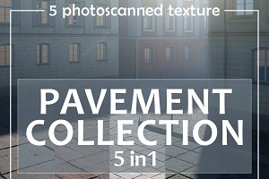 Photoscanned pavement collection
