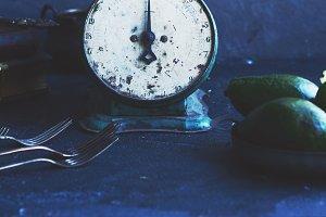 Vintage food scales