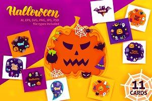 Halloween Papercut Concepts