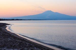 Sicily coast, Italy.
