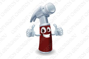 Hammer cartoon character