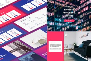 Clover Landing Page Bundle + UI Kit